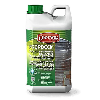 Owatrol Prepdeck Cleaner/Stripper (2.5L)