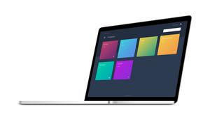 MEVISIO på en laptop