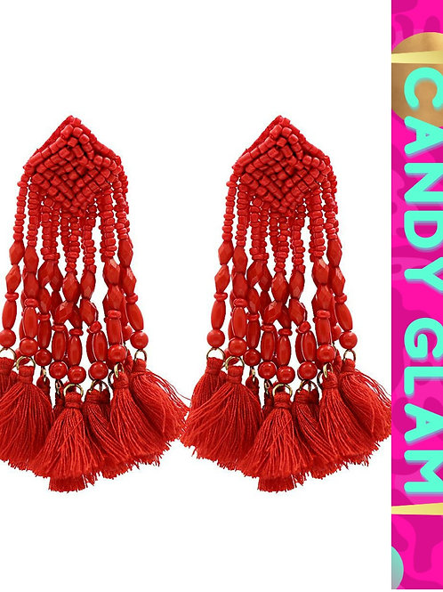 Selena Tassel Earrings