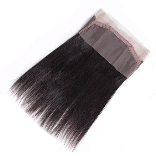 360 Human Hair Brazilian Lace Frontal Closure