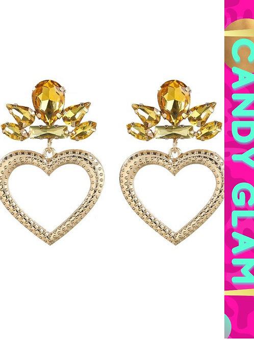 Cher Heart Earrings