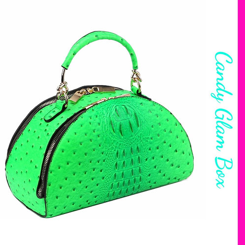 Neon Green Satchel