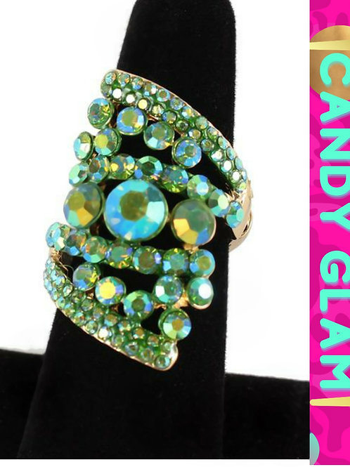 Julia Rhinestone Ring