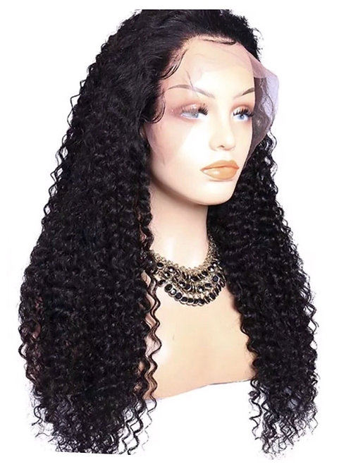 Lace Front Peruvian  Wave Human Hair Wig