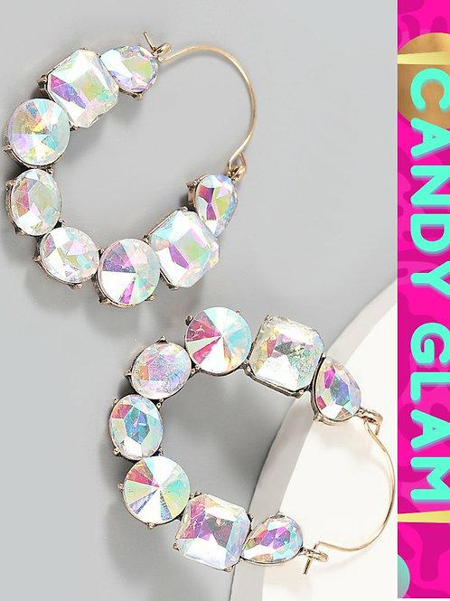 Cindy Rhinestone Earrings