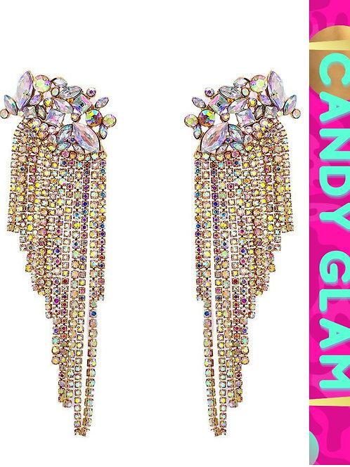 Tiana Long Tassel Earrings