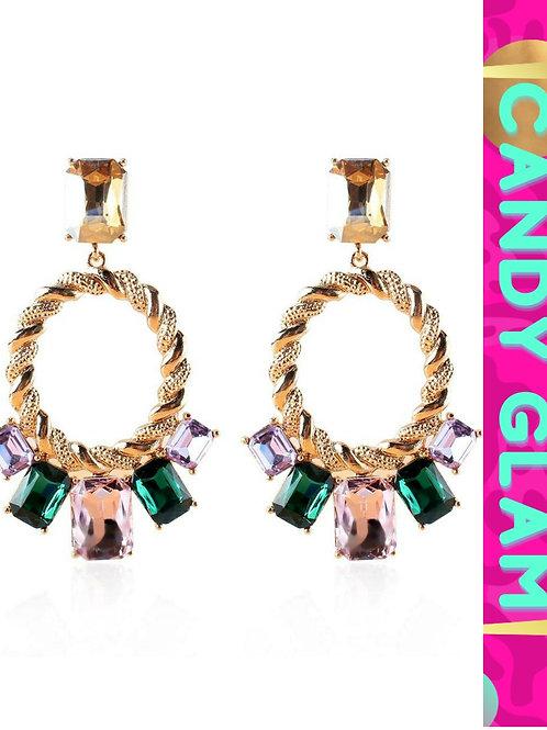 Meryl Gemstone Earrings