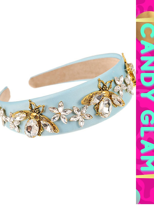 Bejeweled Bee & Rhinestones Headband