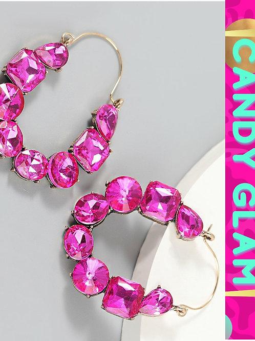 Trina Rhinestone Earrings