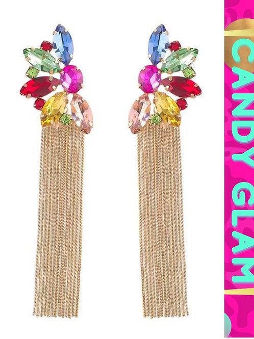 Tina Gemstone Earrings