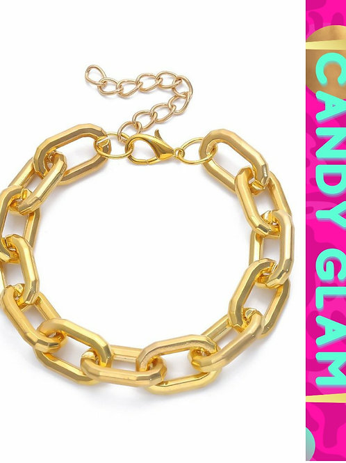 Selena Gold Link Set