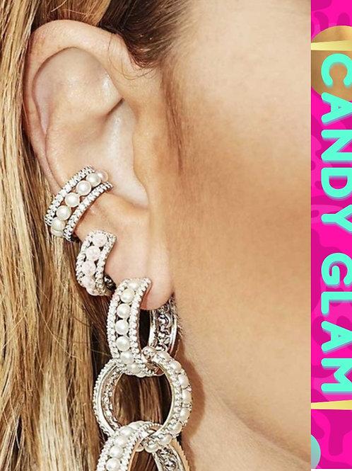 Ria Pearl Ear Clip