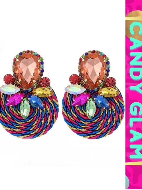 Princess Gemstone Earrings