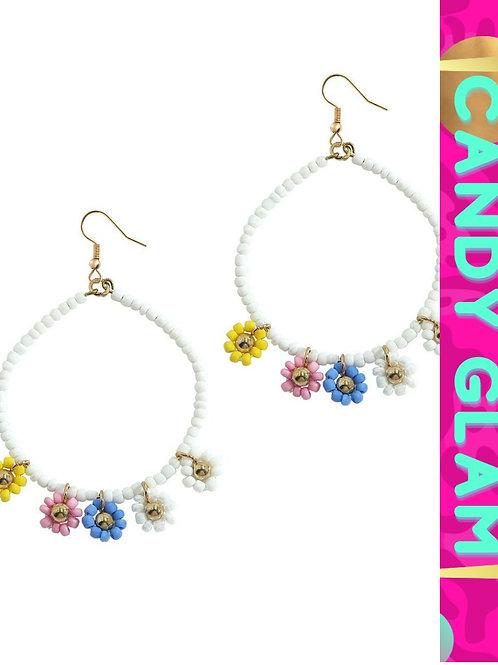 Flora Beaded Earrings
