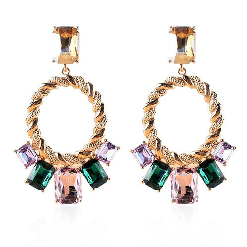 Syleena Rhinestone Earrings