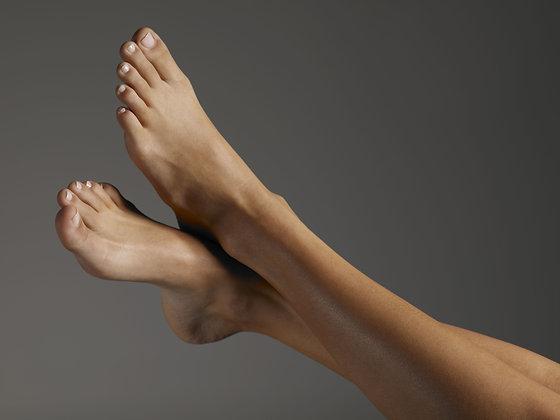 Laser Hair Removal: Feet