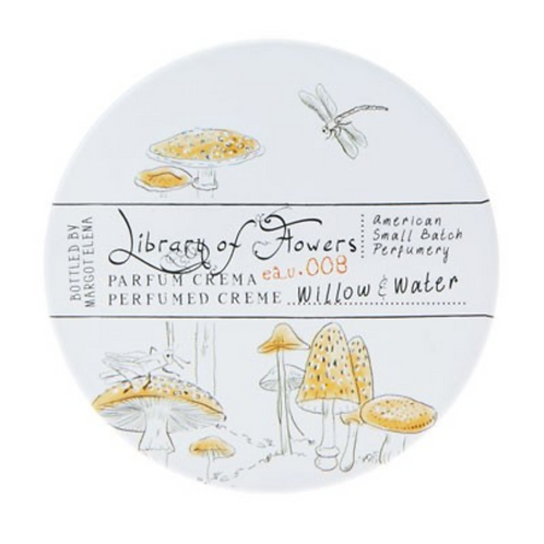 Willow & Water Round Tin