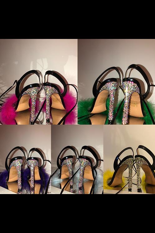 Crystal Heel x Superfeather x Ankle/Leg Tie