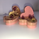 Thumbnail: Strawberry & Chocolate Scented Rosegold Heart Soap Bar