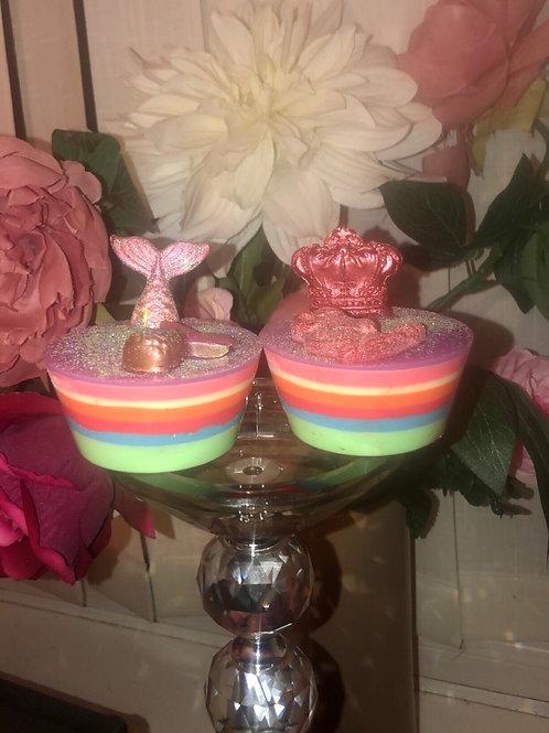 'Rainbow Cupcakes' Soap Bars