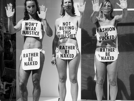 Would rather go naked than wear this injustice
