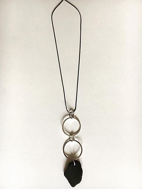 colgante Silver circles