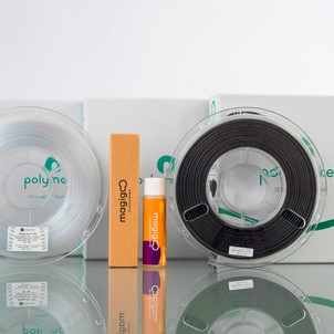 Polymaker recommends Magigoo Smart Adhesive for their Polycarbonate Based Materials