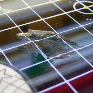 Chipped Glass build-plates – What causes it?
