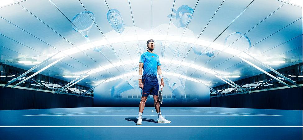 18-106R Tennis Composite Five Backdrop v
