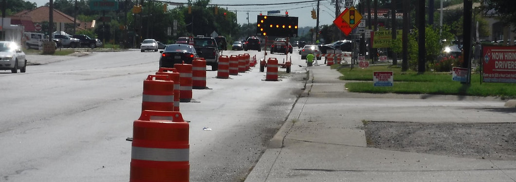 Traffic, Lane Closure, Arrow Board