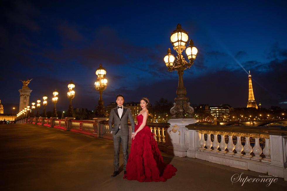 Pont Alexandre III - Paris prewedding