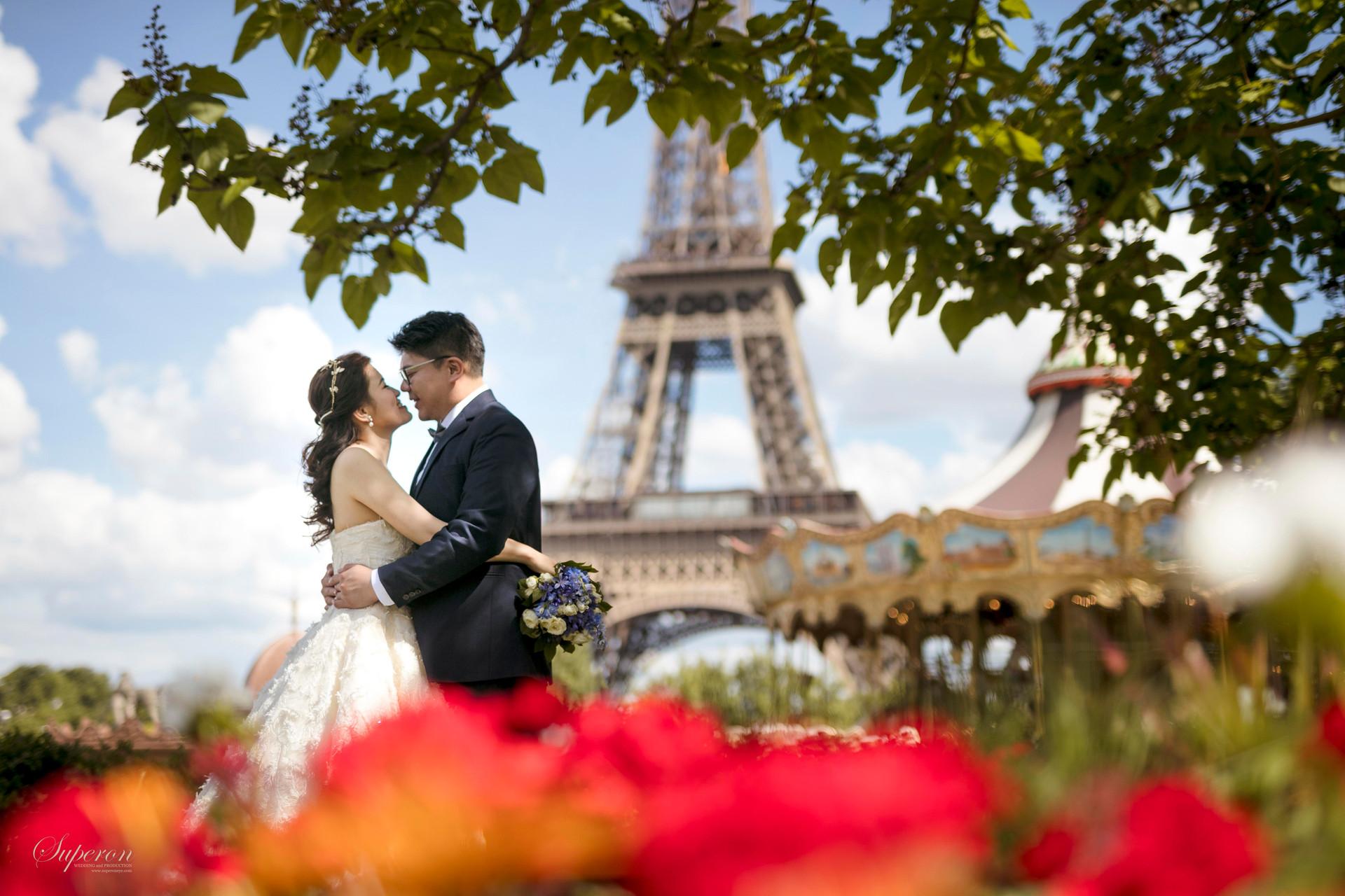 法國巴黎婚紗攝影  海外婚紗攝影 巴黎婚紗照 巴黎當地婚紗攝影師 - paris prewedding -Superoneye Photographyy