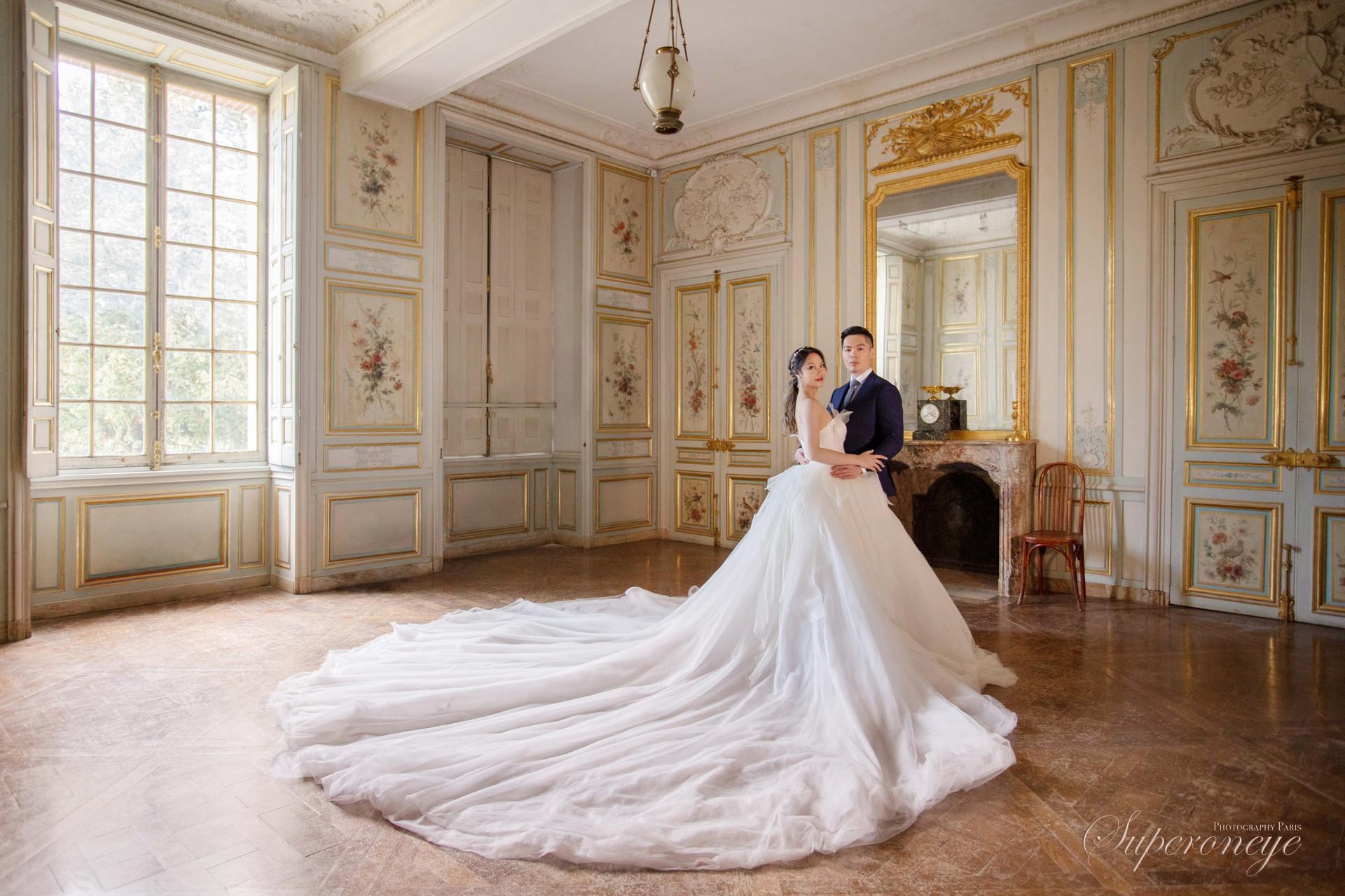 Château de Fontainebleau - Paris prewedding