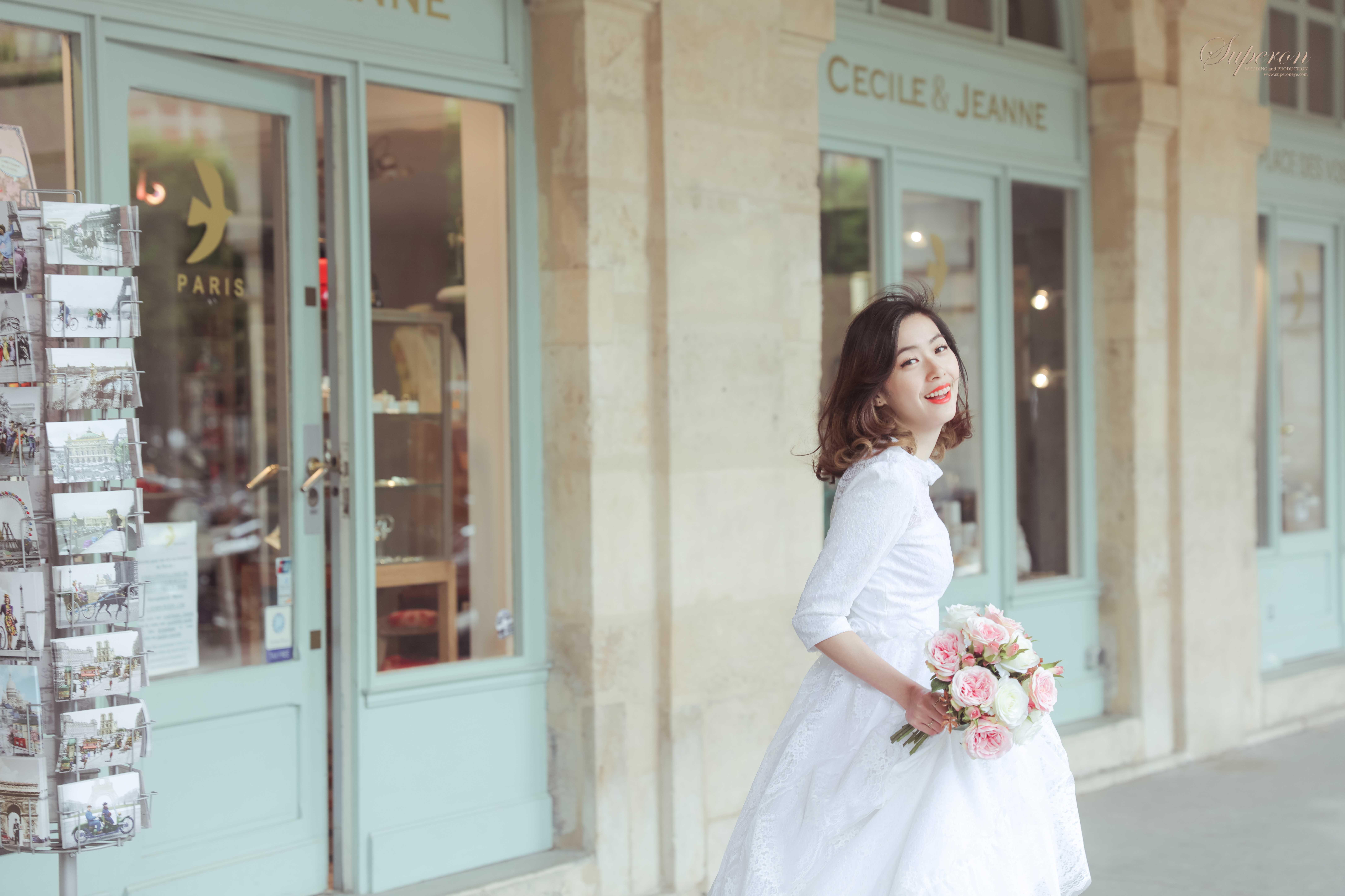 巴黎婚紗外景拍攝 巴黎蜜月旅遊婚紗攝影