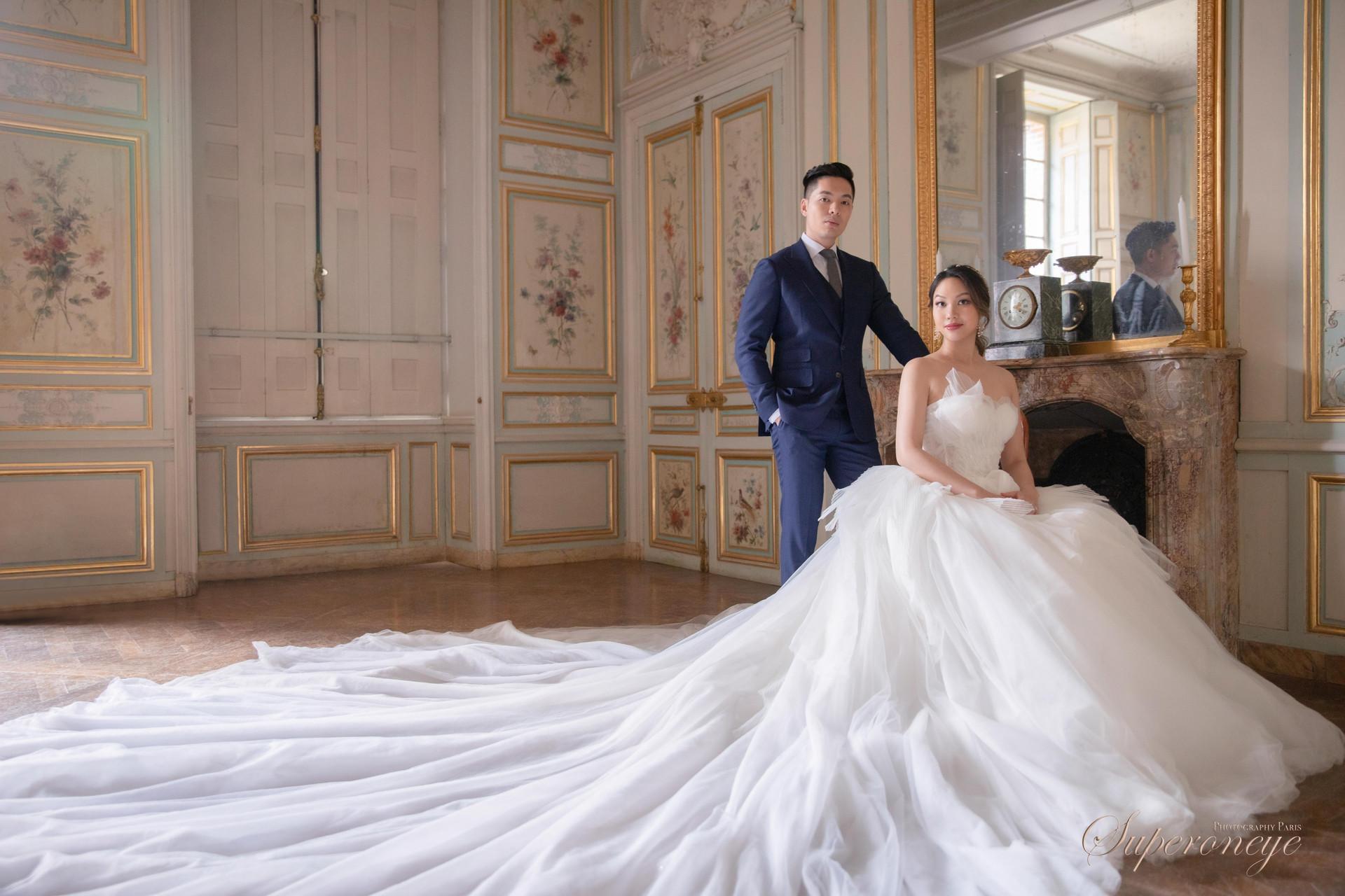楓丹白露宮 - Paris prewedding