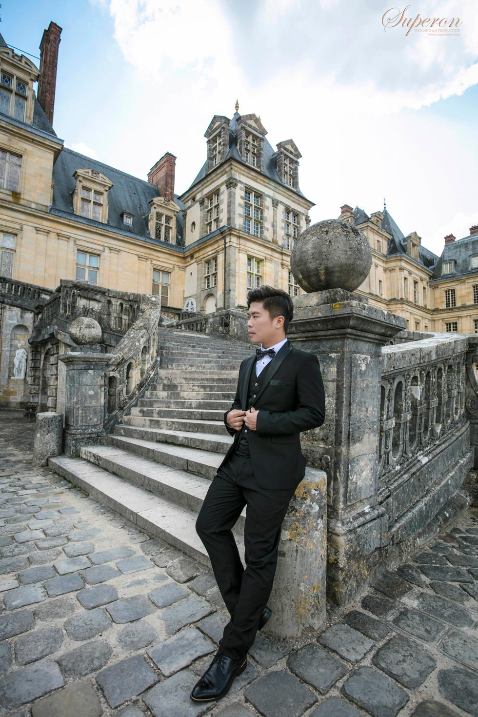 法國巴黎婚紗攝影  海外婚紗攝影 巴黎當地婚紗攝影師
