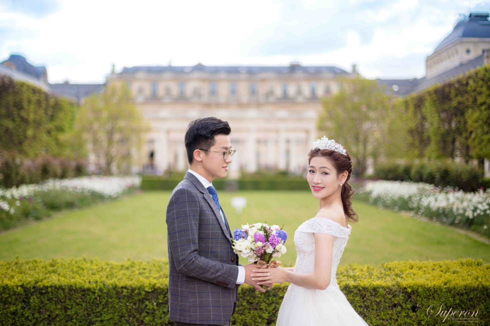 巴黎婚紗攝影 自助婚紗 旅拍婚紗  法國巴黎當地香港攝影師
