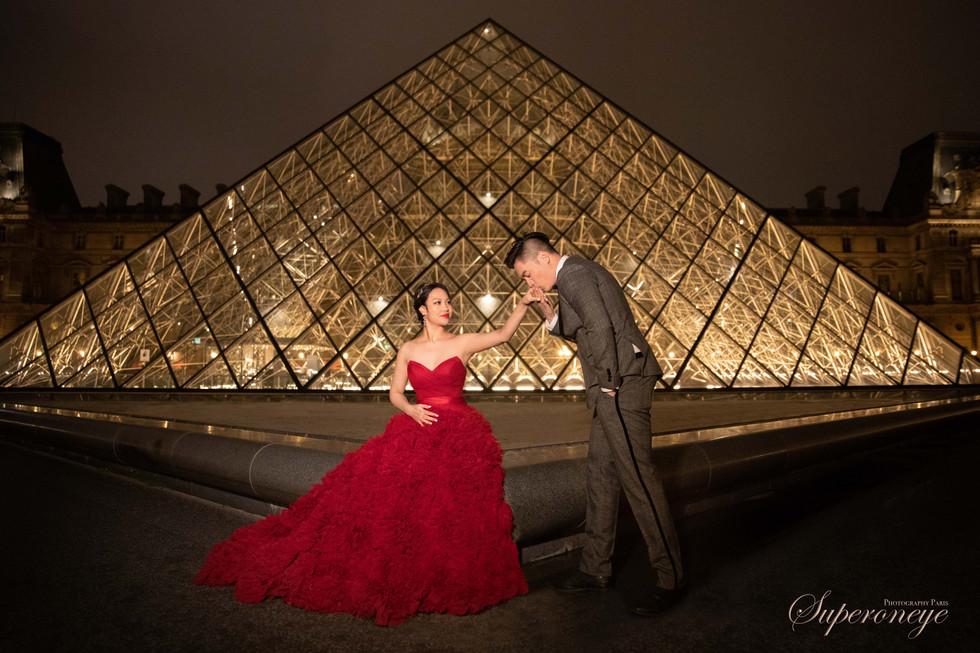 Louvre - Paris prewedding