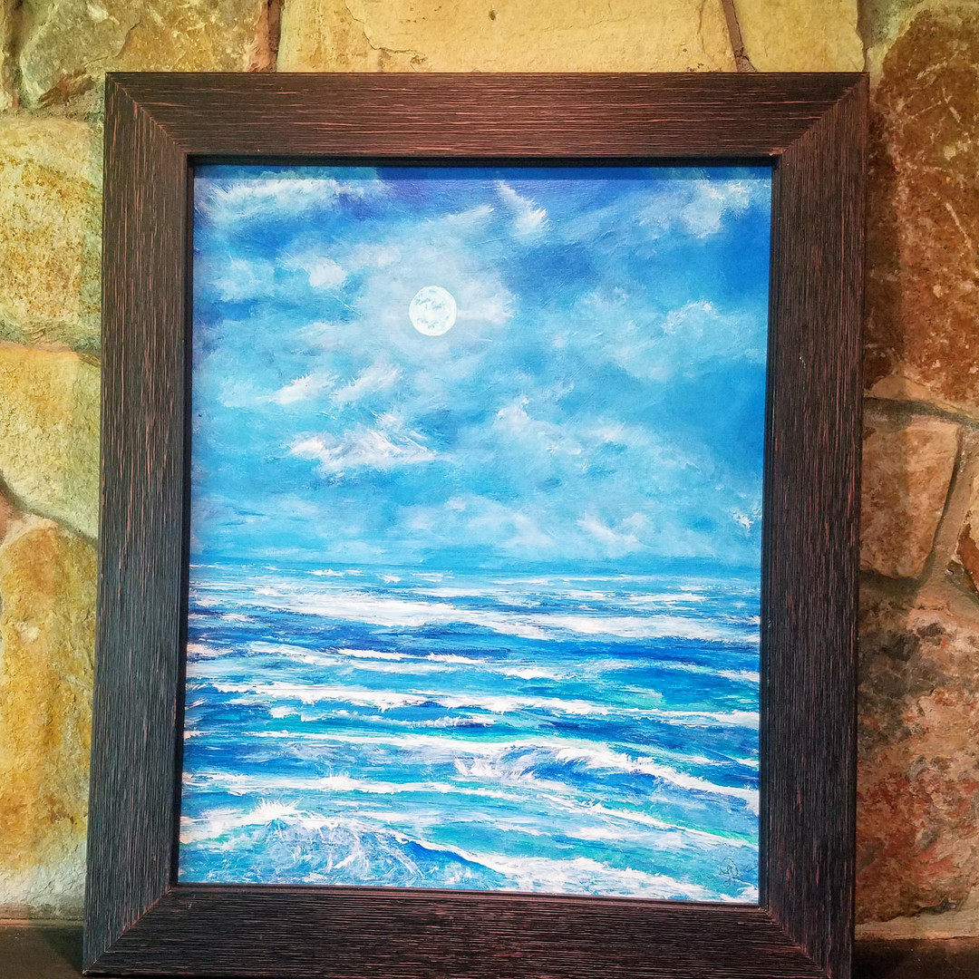 Moonlit 16x20 available