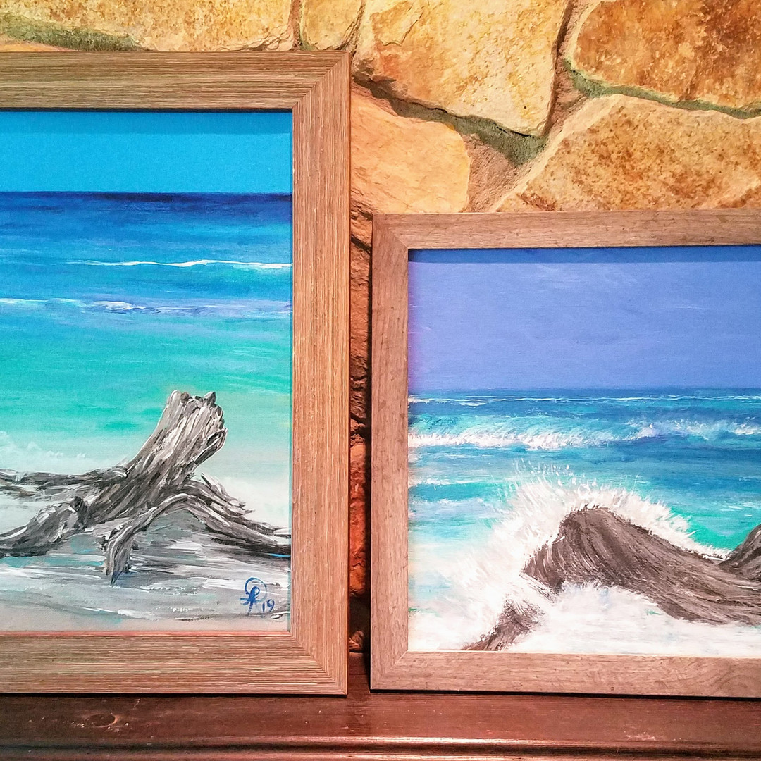 Driftwood paintings 11x14 available