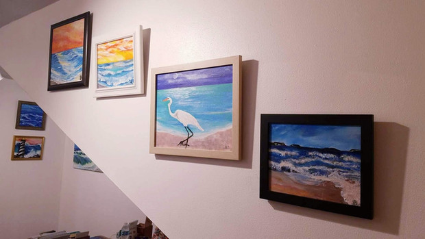 Available artwork at the studio