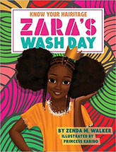 Know Your Hairitage: Zara's Wash Day