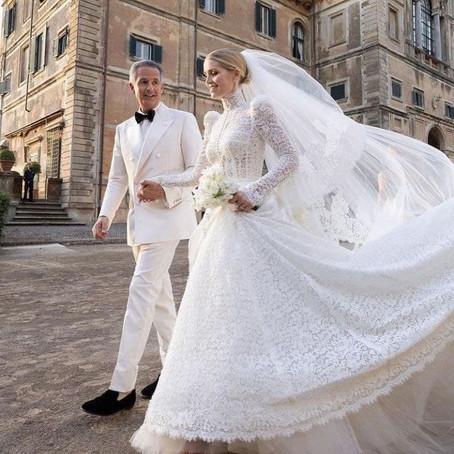 Племянница принцессы Дианы вышла замуж без тиары в платье от DG