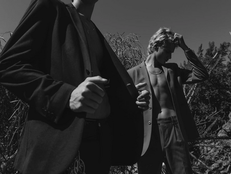 DESERT HEAT Jonah Wolfson & Vincent Pelletier by Tyler Kenny NUMERO RUSSIA