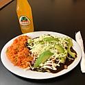 Enchiladas de Mole (3)