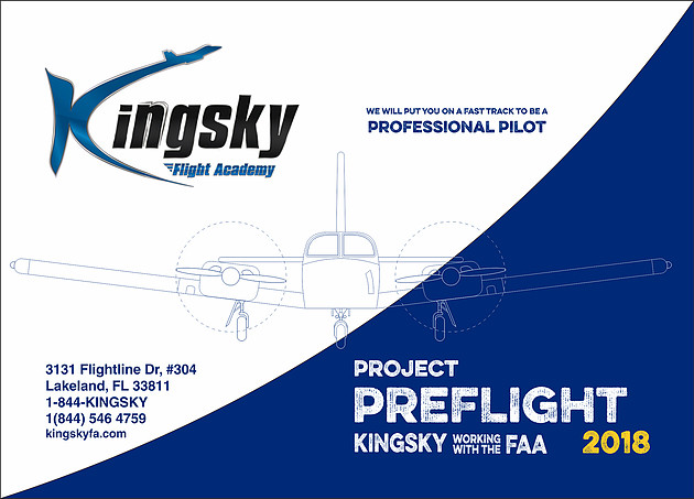 Project Preflight Kingsky Working With the FAA