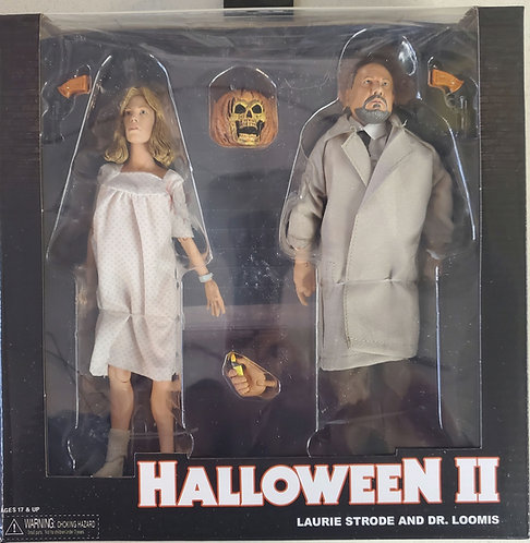 Halloween 2 Laurie Strode and Dr. Loomis 2 pack