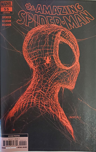 AMAZING SPIDER-MAN #55 2ND PRINT