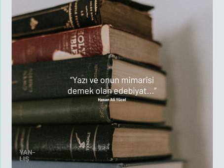 Dil Mimarîsi: Edebiyat - #MondayMotivation