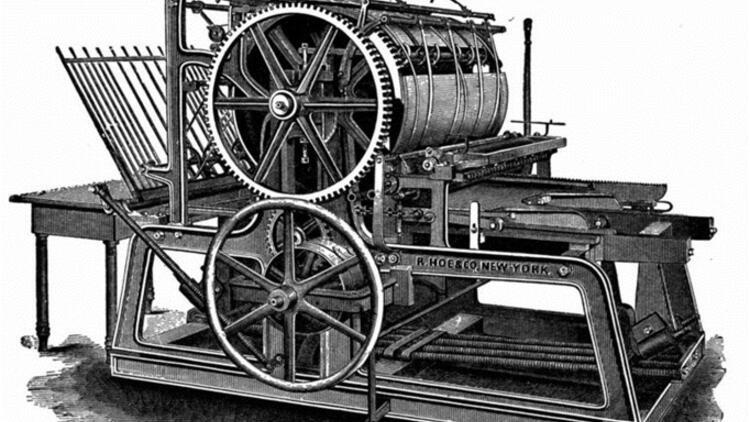 Matbaa'yı Johan Gutenberg bulmuştur. Tek tek metal harflerle baskı tekniğini geliştirerek Dünya'da yaygın hale gelmesine sebep olmuştur.